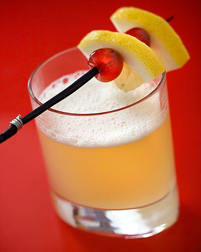Whiskey sauer, so gut … – Cocktails I love