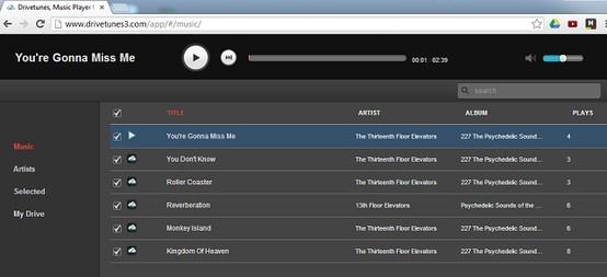 Convierte tu cuenta de Google Drive en un reproductor de música con DriveTunes. Escucha tu música online sin la necesidad de descargar ningún fichero.  http://blog.mp3.es/convierte-tu-cuenta-de-drive-en-un-reproductor-de-musica/?utm_source=pinterest_medium=socialmedia_campaign=socialmedia  #trucos #drive