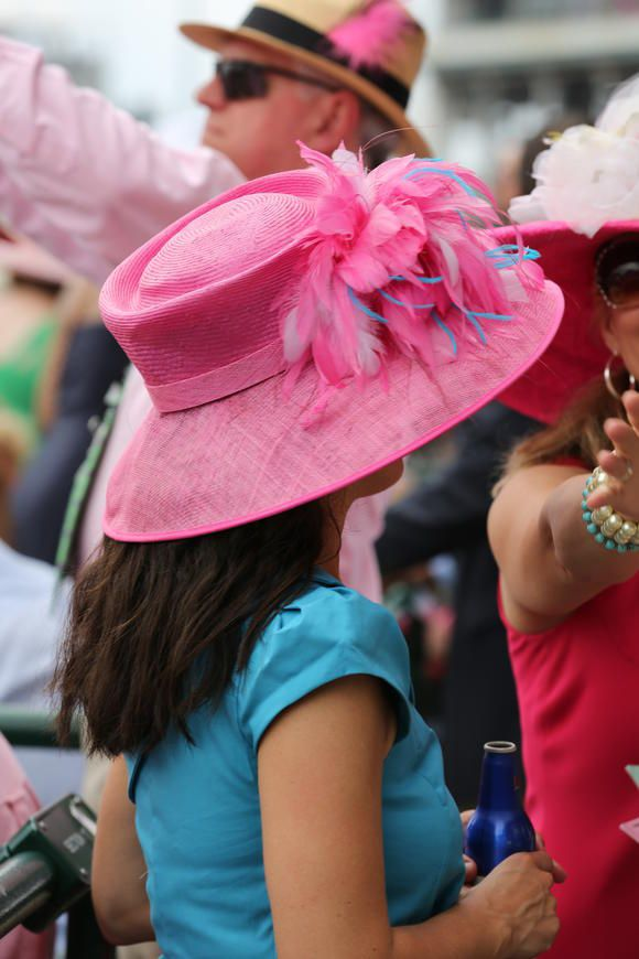 Derby Hats/2013 Kentucky Oaks & Derby by Bruce N. Fratto, posted via kentuckyderby.com