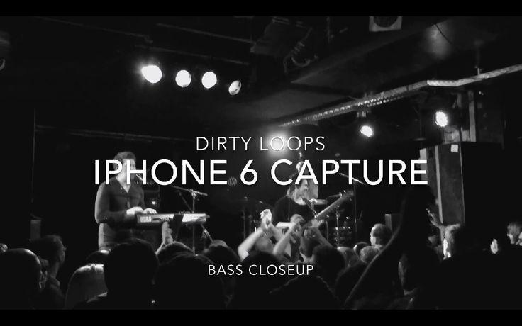 Dirty Loops - The Way she walks  (iPhone 6 Loud Concert)