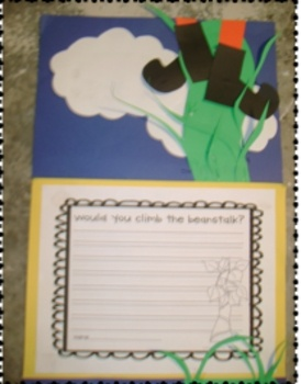 Jack and the Beanstalk-great literacy center activities!
