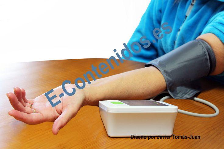 Informa sobre el control de la tensión arterial mediante marketing de contenidos.