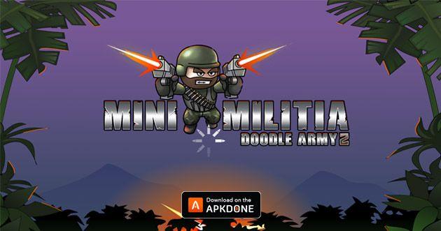 New Apk Mini Militia Doodle Army 2 V4 3 5 Mod Pro Pack