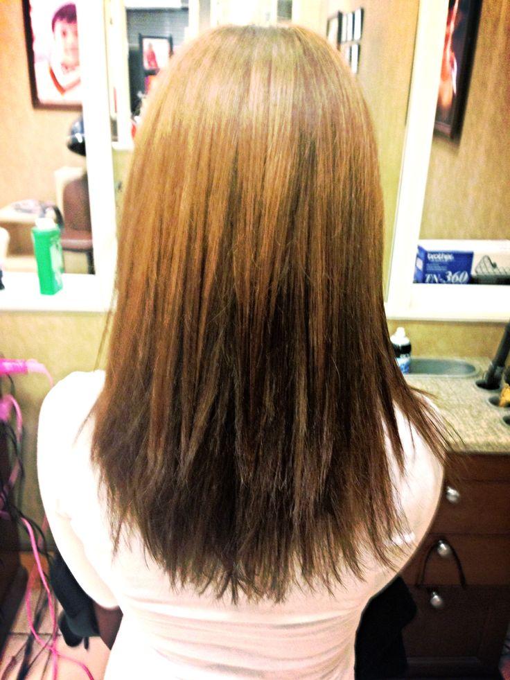 light brown reverse ombre fantastical hair pinterest