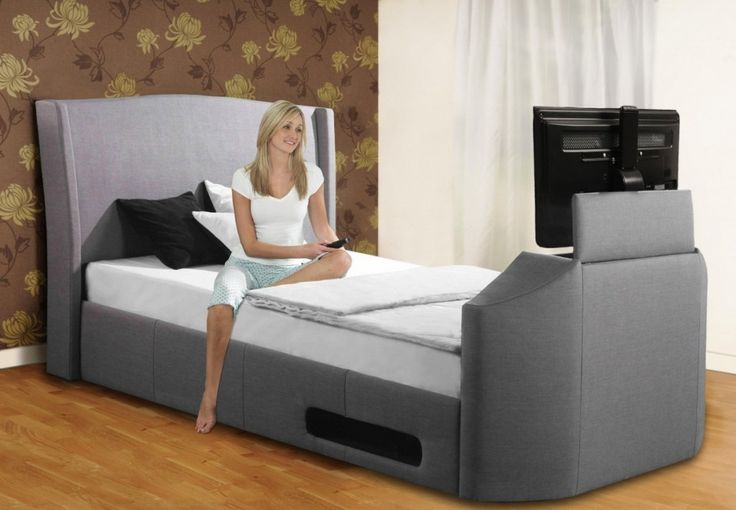 Wonderful Luxurious TV Bed for Your Luxury Bedroom