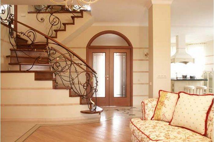 Красивая внутренняя отделка дома фото