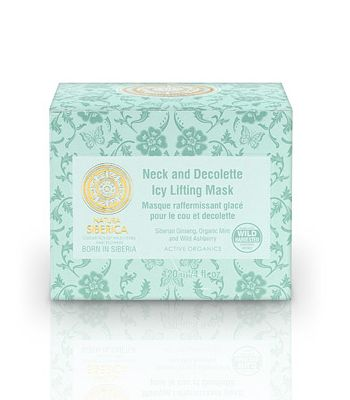 NECK AND DECOLLETTE ICY LIFTING MASK