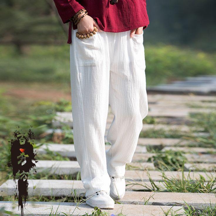 Купить товар2015 мода япония стиль мори девушка лес каваи лолита этнические опрятный льняные брюки гарем широкий размер прямые свободного покроя брюки в категории Брюки и каприна AliExpress.        Размер информация              Длина: 100 см манжеты: 42 см бедра: 104 см талия: 64 см          (Ручное измерение