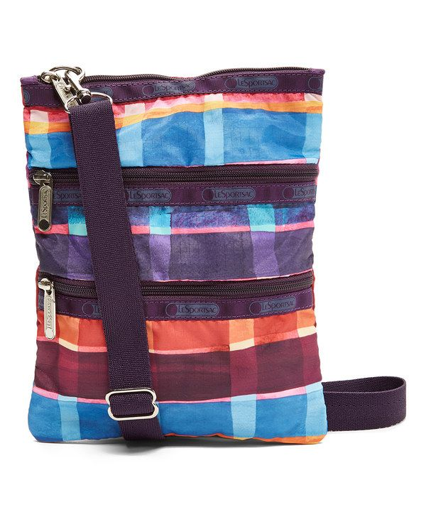 Look at this LeSportsac Painted Plaid Kasey Crossbody Bag on #zulily today!