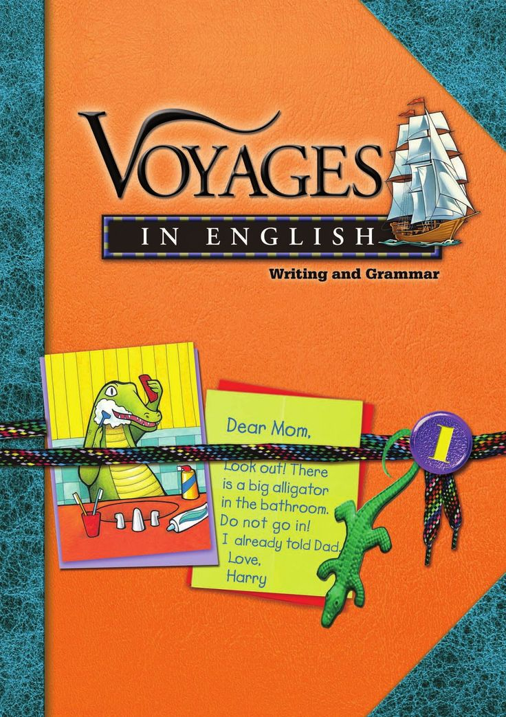 Voyages in English Grade 1 SE  Voyages in English Writing and Grammar has been revised to give you all the tools you need to make classroom writing and grammar instruction more flexible and more efficient than ever before. This edition provides the same depth of grammar practice that teachers love with new features for writing success. Extensive diagramming in every grade helps students with the writing section of the SAT.