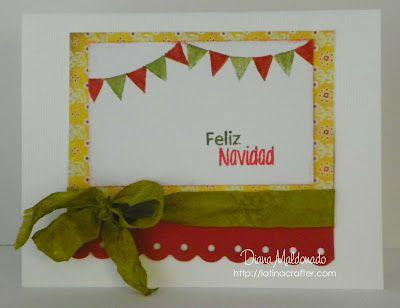 Latina Crafter - Sellos en Español: Set Banderines: Inspiración con el Equipo de Diseño