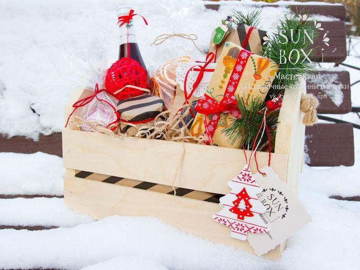 Товары Подарочные корзины и ящики в Спб ✽SUNBOX✽ – 9 товаров