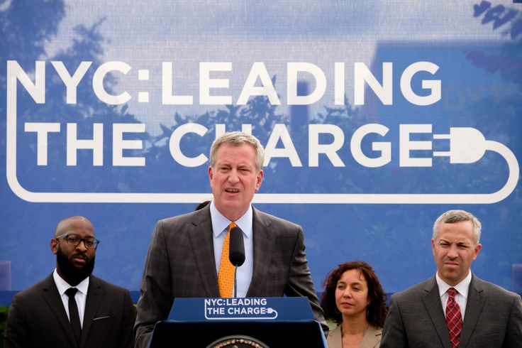 De Blasio wants to install 1,000 electric-car charging stations by 2020 | New York Post