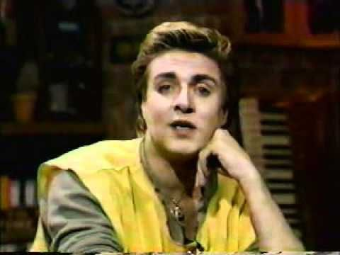 Simon Le Bon & Nick Rhodes (Duran Duran) MTV Guest VJs 1983 - with guest appearance by Andy Warhol