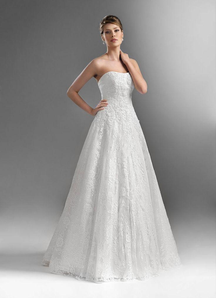 TO-561 - The One 2016 - Kolekcja sukni ślubnych Agnes - koronkowe suknie ślubne