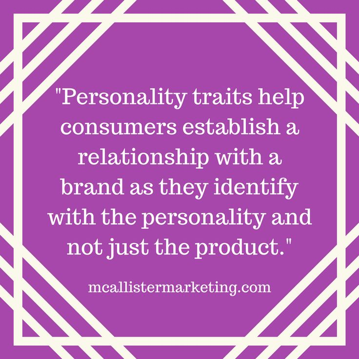 Customers develop a relationship with a brand on the basis of it's personality #brandpersonality #branding