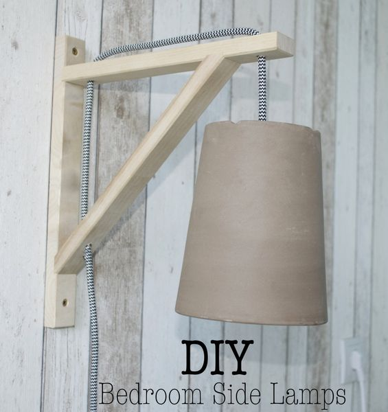 DIY Bedroom Side Lamps (Ikea Hack) (via Bloglovin.com )