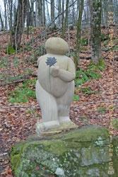 My favourite sculpture in the Haliburton sculpture forest.