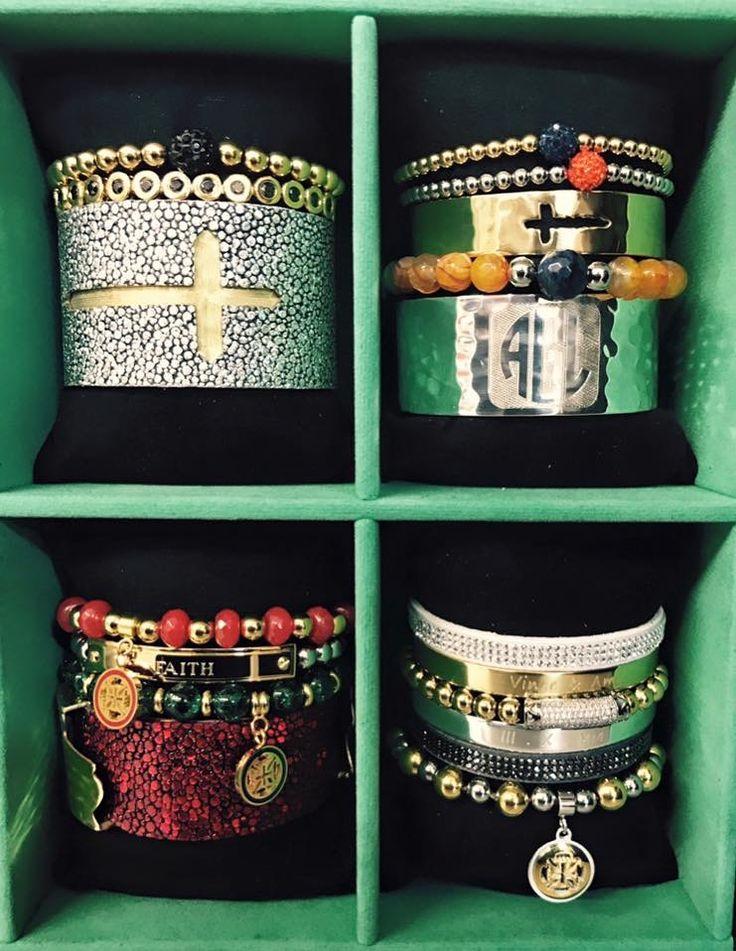 Amy Grant's Custom Rustic Cuff set