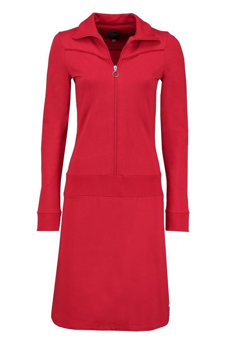 Dress Vera LS Red