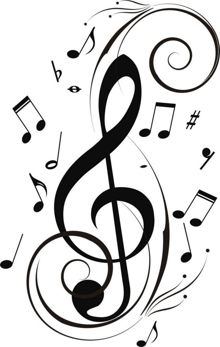 25+ melhores ideias de Tattoos de notas musicais no