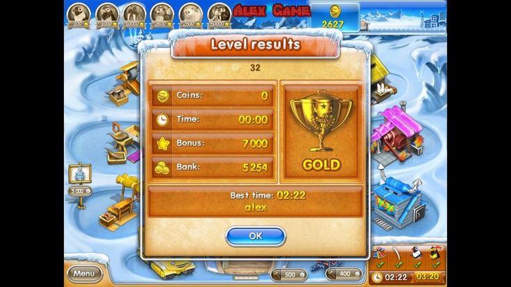 Farm Frenzy 3 Ice Age (level 32) only GOLD Веселая ферма 3 Ледниковый период (уровень 32) Золото