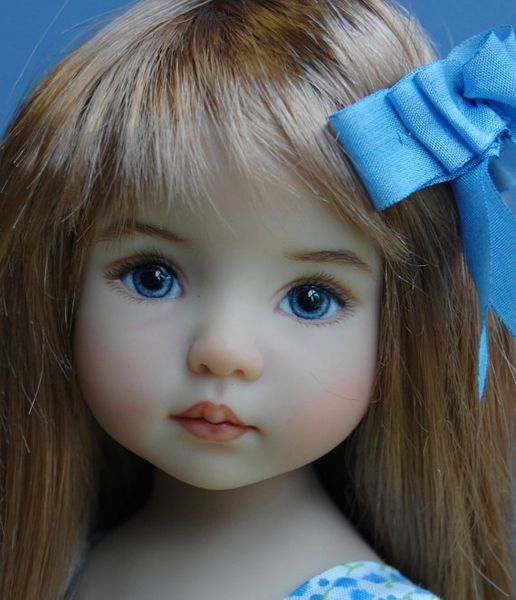"Dianna Effner's 13"" Little Darling painted by?"
