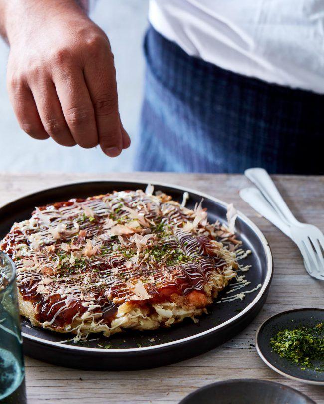 Okonomiyaki Adamliaw Com Healthy Asian Recipes Okonomiyaki Recipe Recipes