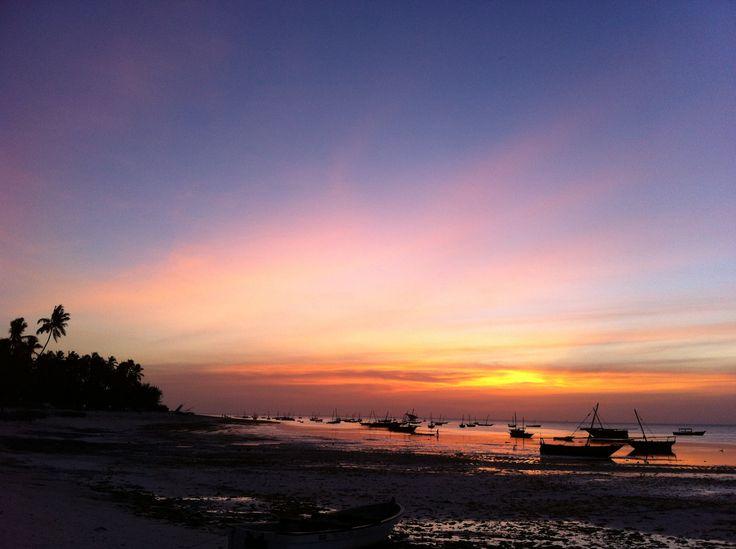 #Sunset view at Mnarani #Zanzibar #Holidays #Hideaway