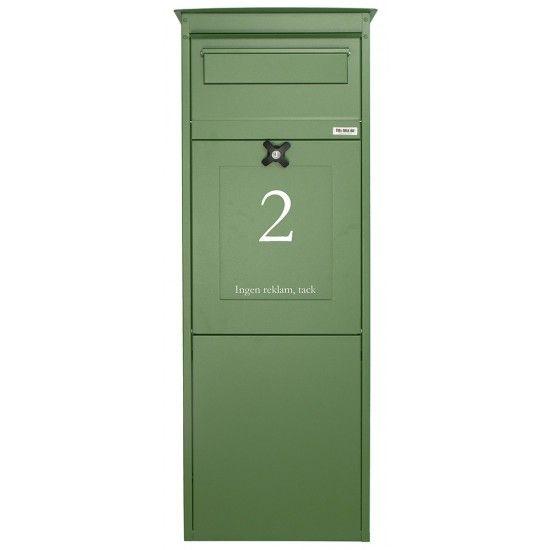 Paketbriefkasten - Grün oder blau?