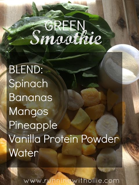 RUNNING WITH OLLIE: Shake it Up Smoothies: Lean and Green Protein Shake