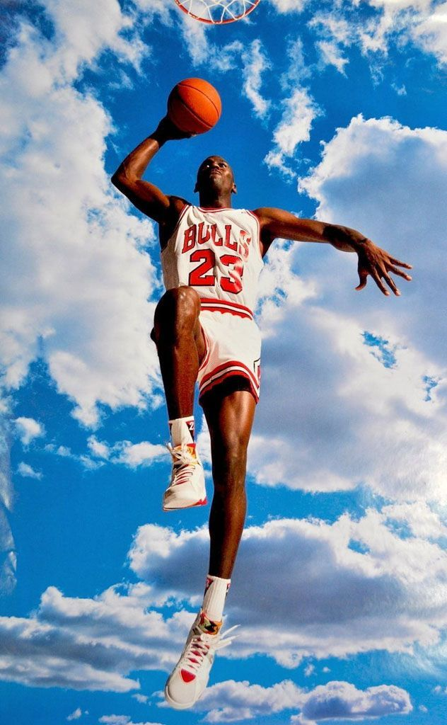 Michael Jordan 'Sky Jordan' Nike Air Jordan Poster (1992)