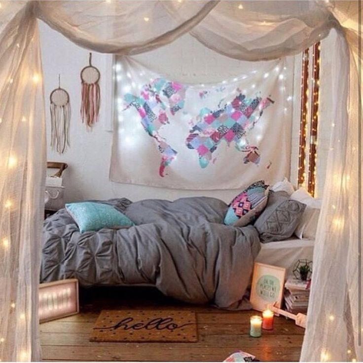 25 best ideas about cute teen bedrooms on pinterest for Cute bedroom ideas for teenage girls with small rooms