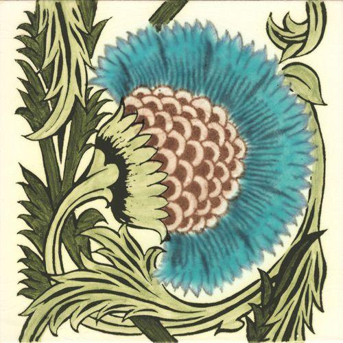William De Morgan Berries, Leaves and Pattern Tiles. Victorian Ceramics Classic Reproduction Tiles from William Morris, Willian DeMorgan and Philip Webb