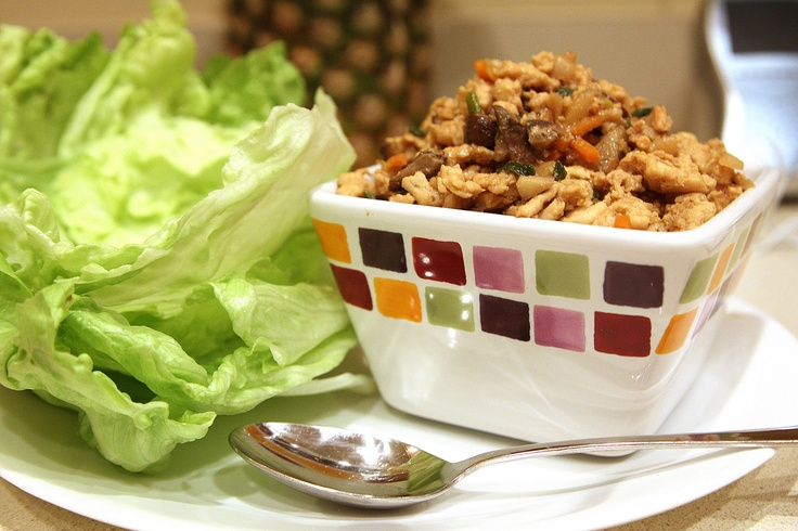Lettuce Wraps!  A delicious, at home version of a restaurant favorite.