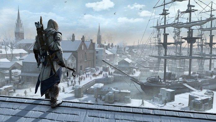Assassins Creed 3 coloca o jogador em uma trama no meio da Revolução Americana (Foto: Divulgação/Ubisoft)