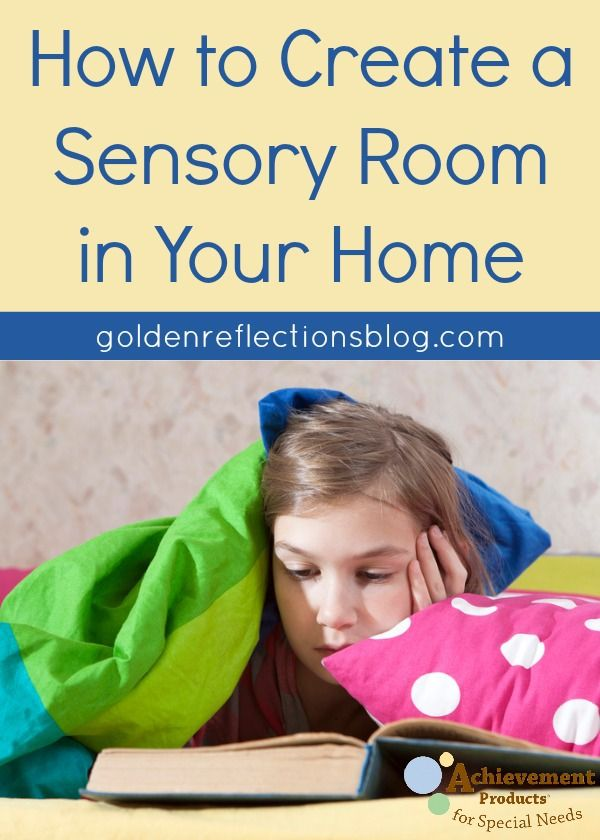 Why creating a Sensory Room in your home is beneficial and what items to include. | www.GoldenReflectionsBlog.com
