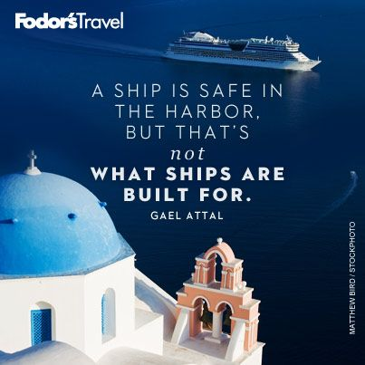 Where is your ship taking you?