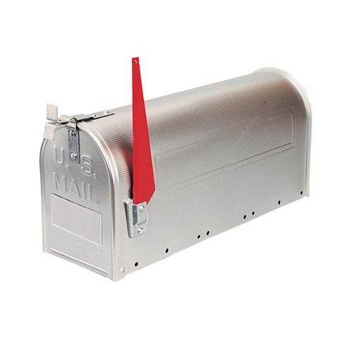 Galvanized Rural Mailbox by Steel City //  via Remodelista