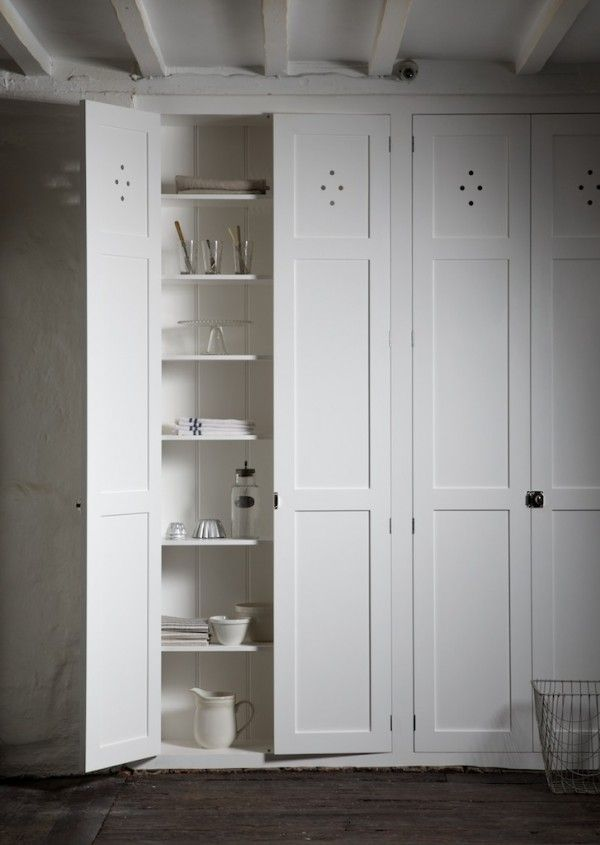 devol / cotes mill - pantry doors = cupboards