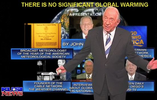 "Weather Channel Founder on Climate Change: It's ""a Fictional, Manufactured Crisis""  Read more at http://freedomoutpost.com/2014/07/john-coleman-weather-channel-founder-on-climate-change/#YmkpK0dXyoFSU5kW.99"
