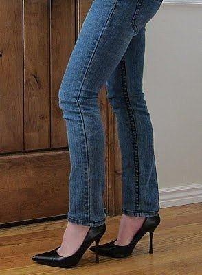Подшиваем джинсы с сохранением фабричного шва
