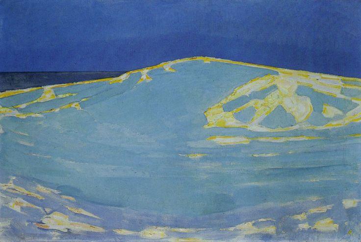 Piet Mondriaan   Summer, Dune in Zeeland, 1910 134 x 195 cm Oil on canvas Gemeentemuseum, The Hague
