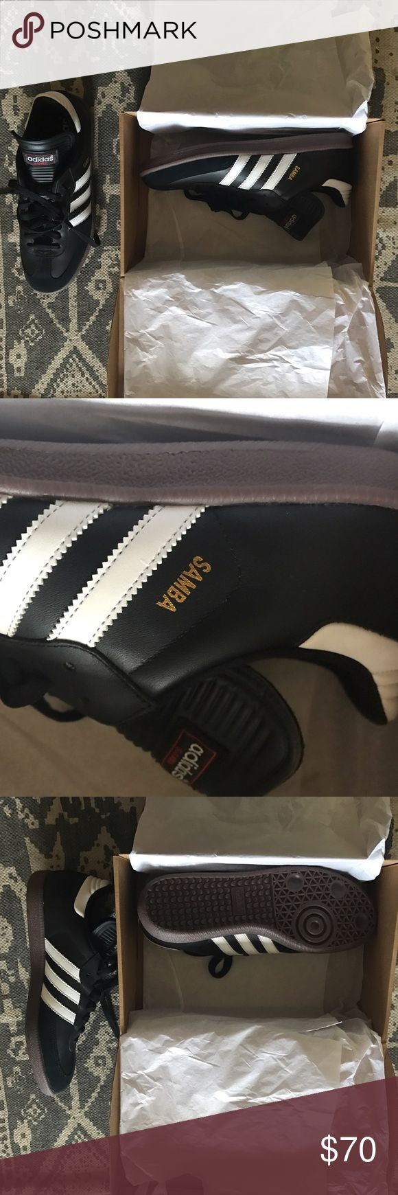 Brand new classic adidas sambas! Still in box. Brand new. Never worn Adidas Shoes Sneakers