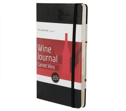 I just bought - Moleskine - Wine Journal and I love it!! It is ideal for the beginner such as myself or the advanced wine enthusiast