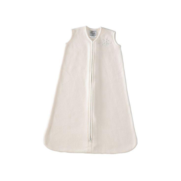 HALO Fleece SleepSack, Infant Unisex, Size: Medium, White
