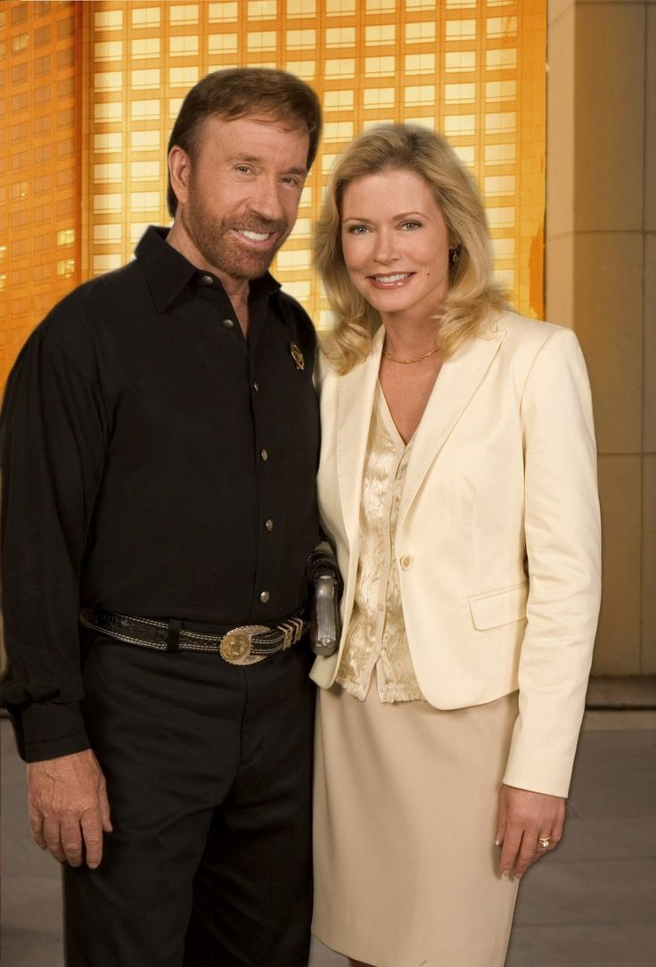 Chuck Norris and Sheree J. Wilson