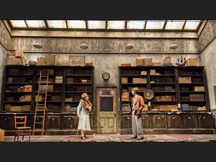 Judi Dench and Ben Wishaw in John Logan's Peter and Alice.
