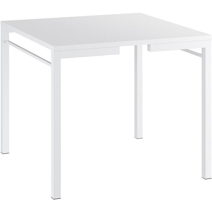 Compre Mesa 1525 - Móveis Carraro Branco   Lojas Marabraz