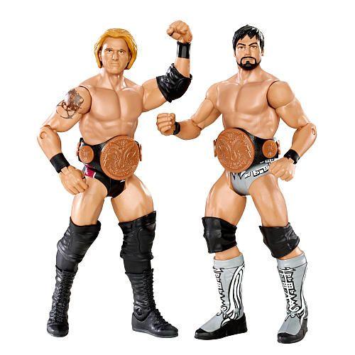"WWE Series 11 Battle Pack Action Figure 2-Pack - Heath Slater vs. Justin Gabriel - Mattel - Toys ""R"" Us"